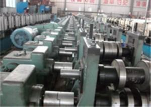 China 60mm Roller Axis Profile Roll Forming Machine , PLC Metal Roll Forming Systems on sale