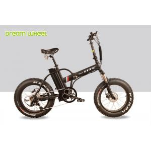 "China 500w 32km / H Lithium Battery Electric Beach Bicycle 20"" X 4.0 Fat Tire on sale"
