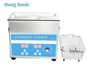 China High Frequency Heated Ultrasonic Cleaner , 3.2L 150W Commercial Ultrasonic Cleaner on sale