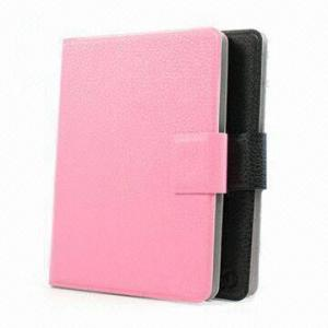 China Synthetic leather and faux suede lining Kindle Fire Protective Case  for  touch / Ebook on sale