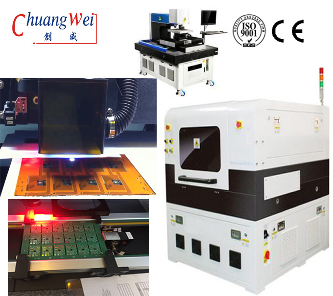 PCB 355nm Laser Depaneling Machine For SMT Production Line