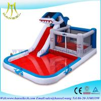 Hansel commercial High quality inflatable super slide with cheaper price water pool slide