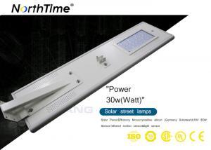 China La route actionnée solaire intelligente allume le capteur de mouvement intégré de LED PIR on sale