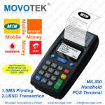 Movotek Mobile Money POS Device with USSD & SMS & GPRS Voucher Printer