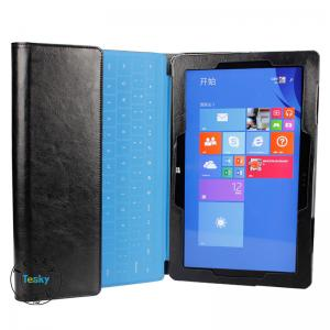 China leather tablet Keyboard Case for surface pro on sale