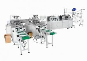China Beautiful Appearance Non Woven Face Mask Making Machine High Stability on sale