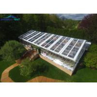 20m Width 40m Length Transparent Top Marquee Party Tent For 500 People