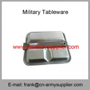 China Wholesale China Cheap Philippines Army Police Aluminum Stainless Steel Mess Kit on sale