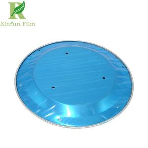 China 0.03-0.2mm Excellent Clarity Blue Aluminum Adhesion Surface Protective Film on sale