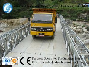 China CB321(CB100) DSR  Bailey Bridge Used In Nepal,Loading 30TON. on sale