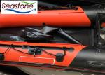6 Person Fishing Roll Up Inflatable Boat Length 380cm With Fishing Rod Holder
