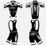 白黒普及した循環の衣類の人/女性のカスタマイズされたスポーツ・ウェア