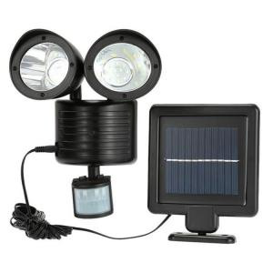China 600LM Solar Powered Security Light With Motion Sensor on sale
