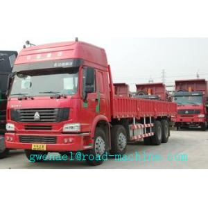 China SINOTRUK HOWO 8x4 Heavy Cargo Trucks / Diesel Box Stake Truck ZZ1317N3867N1 on sale