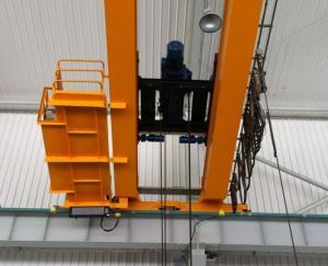 China 冶金学、500トンのための頑丈なワイヤー ロープの産業電気起重機 on sale