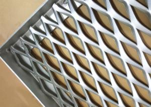 China Expanded Type Decoration Aluminum Mesh Panel For Facade Cladding System 600X1000 on sale