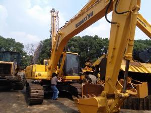 China Komatsu excavator PC200-6 PC200-5 PC200-7   used excavator for sale 1.5m3  track excavator isuzu engine minit excavator on sale