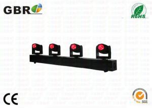 China 4pcs *10w  led moving head beam light, lighting Bar White or rgbw 4 heads 4pcs 10w led beam moving head light on sale