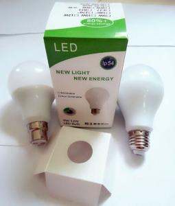 China E27 5W LED Bulb A70 high lumen >100lm/w lamp 3 years warranty on sale