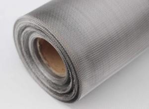 China 40 Mesh 304 316 316L Stainless Steel Wire Panels Solid Structure For Extruder Screens on sale
