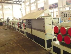 China Tape Packing Machinery PET Strap Extrusion Line With Twin Screw on sale