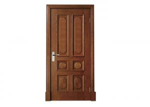 China Sound Insulation Wood Panel Door Max Width 1100mm 45mm Finger - Joint Skeleton on sale