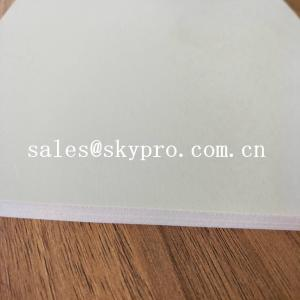 China Smooth Latex Rubber Sheet Roll Non Toxic Silicone Soft White SBR Rubber Sheet on sale