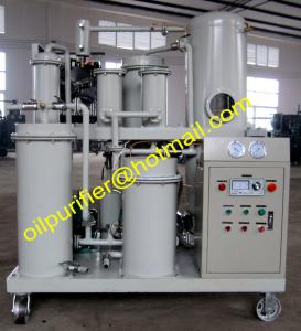 China Lubricants Oil Purification System,Vacuum Oil Dehydrator Purifier Plant Factory on sale