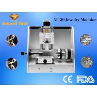 Herramientas de la joyería y de la máquina del CNC máquina de grabado del anillo para dentro y fuera