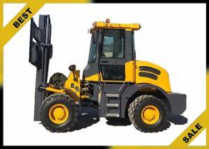China 4 T Construction Fork Lift Trucks 1070mm Fork Length , Diesel Forklift Truck Ce Certificate on sale