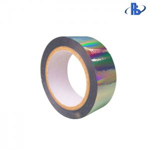 China Holographic Security Void Labels , Rainbow Custom Security Stickers Tape 15-25um on sale