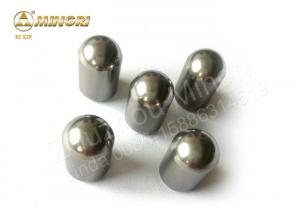 China 85 - 91 Hardness Tungsten Carbide Buttons Insert Teeth Tip For Borewell Drill Bits on sale