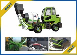China Self Loading Mobile Concrete Mixer Truck 1.2 M³ Volume Mixing Tank Stable on sale