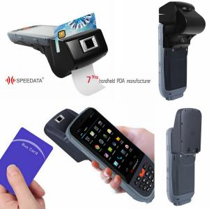 China Intelligent GPS 3G Wireless Fingerprint Scanner Bar Code RFID Reader on sale