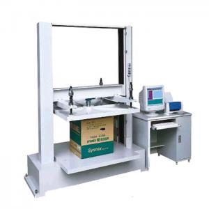 China 5T Computer Container Carton Compression Pressure Testing Equipment With 1/250000 Resolution on sale