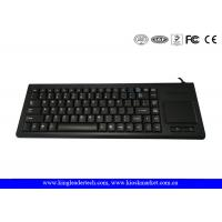 China 87 Keys Plastic Industrial Keyboard with Optical Touchpad , USB or PS / 2 on sale