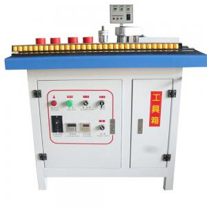 China round corner china pvc edge banding tape making machine  small type on sale