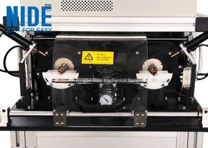 China Highly automatic Universal and DC motor armature rotor testing panel machine with double stations for sale on sale
