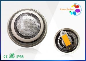 China Stainless Steel 18W LED Swimming Pool Light 12 Volt 6000K With Mobil Control on sale