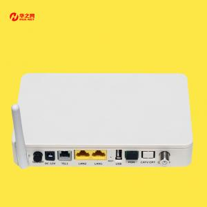 gpon ont mini 2ge catv wifi pots onu ftth fiber optic