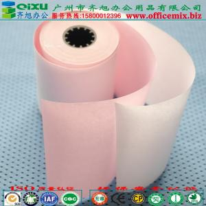 China Thermal Custom paper roll Wholesale Computer Printing thermal Carbonless paper Sheets Forms Rolls manufacturer in china on sale