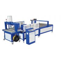 China Fully Automatic Automatic Plastic Strapping Machine for Corrugated Carton Box on sale