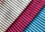 Textile Material Poly Minky Plush Fabric Jacquard Strip Velboa Fabric