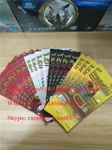 China PremierZen Gold Male Enhancement Pill card blister packaging in stock with 3D effect on sale