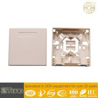 Plastic Ftth Fiber Optic Terminal Box , Fiber Distribution Terminal Weather Proof