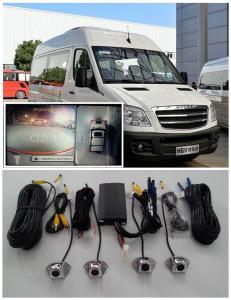 China Sistema video visual do monitor do registro do carro de 360 graus para os ônibus e os caminhões, IP67 impermeável on sale
