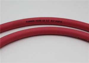 China Fiber Braided Flexible Rubber Hose , Rubber Fuel Hose For Diesel , Oil Fuel on sale