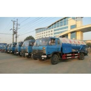 China sewer suction truck 3cbm water tank 6cbm sewer tank sewage suction truck, HOT SALE! dongfeng sewer and cleaning vehicle on sale