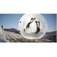 Clear TPU Material Inflatable Zorb Ball Customized Design Excellent Air Tightness