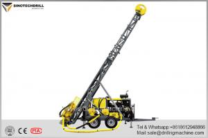 China Atlas Copco Construction Equipment Diamond Core Drill Rig With 5113NM Max Torque on sale